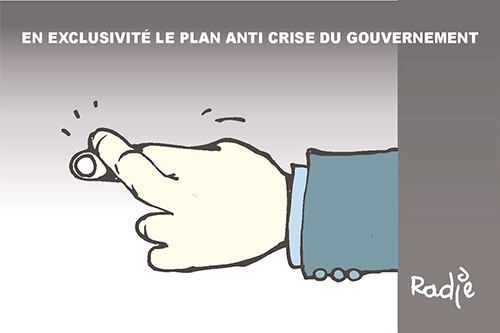 En exclusivité, le plan anti crise du gouvernement - Ghir Hak - Les Débats - Gagdz.com