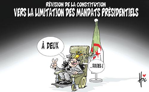 Révision de la constitution: Vers la limitation des mandats présidentiels - Le Hic - El Watan - Gagdz.com