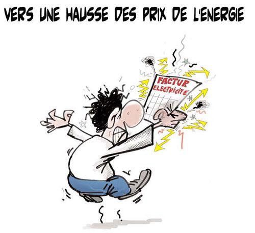 Vers une hausse des prix de l'énergie - Lounis Le jour d'Algérie - Gagdz.com