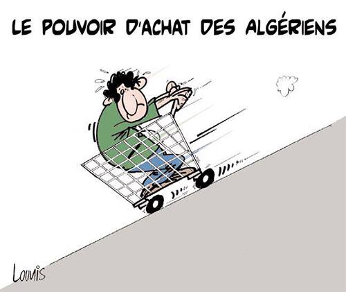 Le pouvoir d'achat des algériens