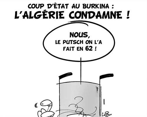 Coup d'état au Burkina: L'Algérie condamne