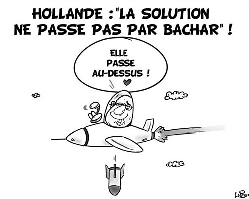 Hollande: La solution ne passe pas par Bachar