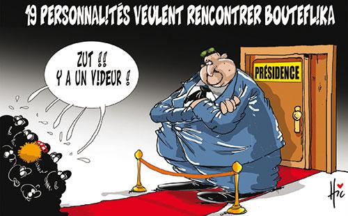19 personnalités veulent rencontrer Bouteflika - Le Hic - El Watan - Gagdz.com