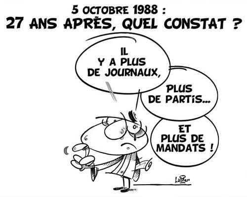 5 octobre 1988: 27 ans après, quel constat ? - Vitamine - Le Soir d'Algérie - Gagdz.com