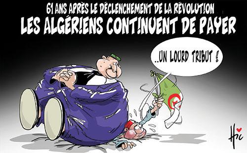 61 ans après le déclenchement de la révolution: Les Algériens continuent de payer - Le Hic - El Watan - Gagdz.com
