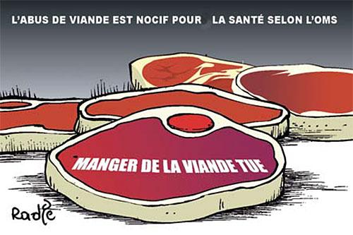 L'abus de viande est nocif pour la santé selon l'oms - Ghir Hak - Les Débats - Gagdz.com