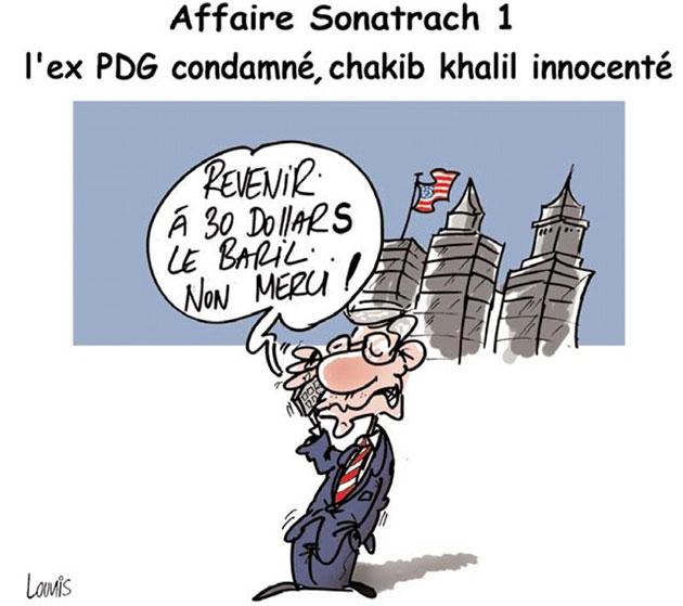 Affaire sonatrach 1: L'ex pdg condamné