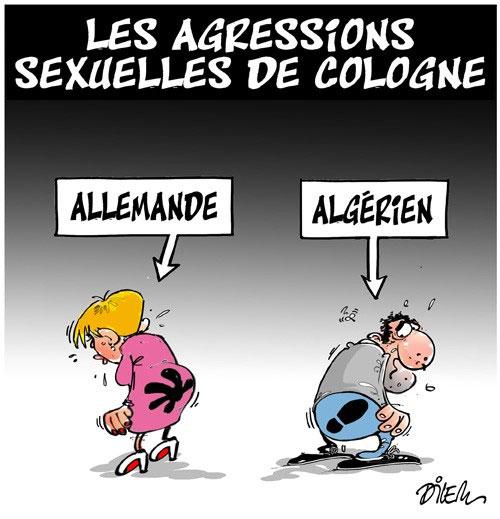 Les agressions sexuelles de Cologne