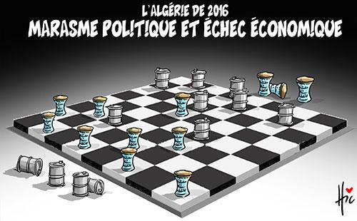 L'Algérie de 2016: Marasme politique et échec économique