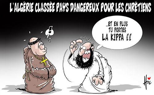 L'Algérie classé pays dangereux pour les chrétiens