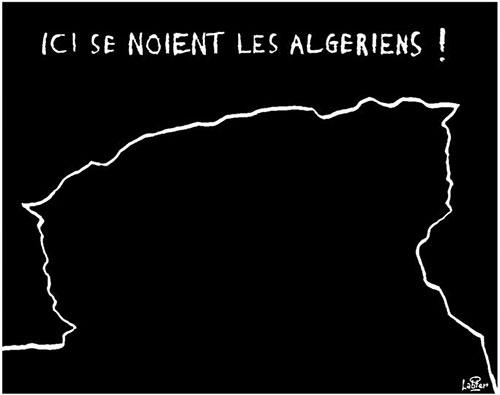 Ici se noient les algériens