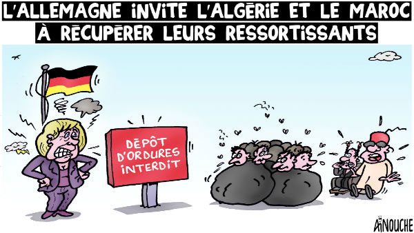 L'Allemagne invite l'Algérie et le Maroc à récupérer leurs ressortissants