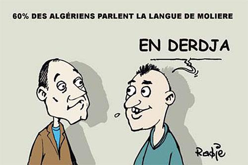 60% des algériens parlent la langue de molière - Ghir Hak - Les Débats - Gagdz.com