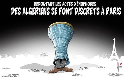 Redoutant les actes xénophobes: Des algériens se font discrets à Paris - Le Hic - El Watan - Gagdz.com