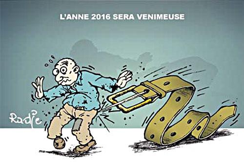 L'année 2016 sera venimeuse - Ghir Hak - Les Débats - Gagdz.com