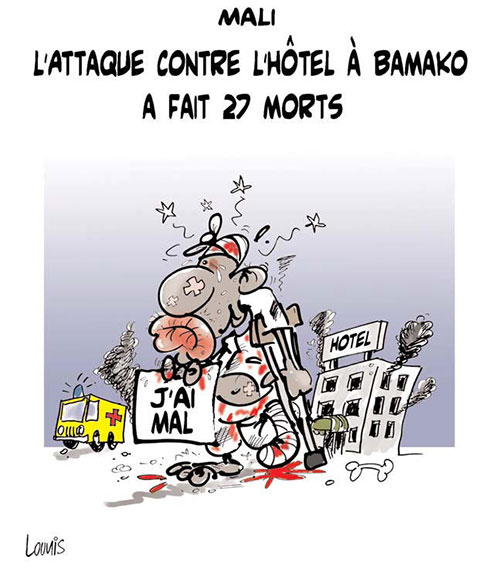 Mali: l'attaque contre l'hôtel à Bamako a fait 27 morts