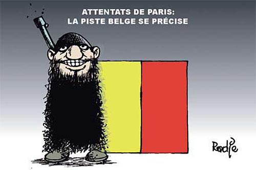 Attentats de Paris: La piste belge se précise - Ghir Hak - Les Débats - Gagdz.com