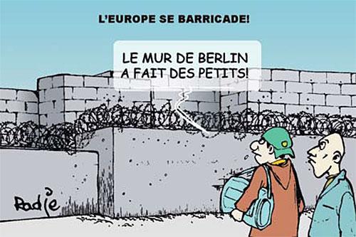 L'Europe se barricade - Dilem - Liberté - Gagdz.com