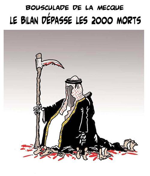 Bousculade de la Mecque: Le bilan dépasse les 2000 morts