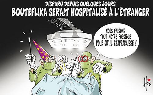 Disparu depuis quelques jours: Bouteflika serait hospitalisé à l'étranger - Le Hic - El Watan - Gagdz.com