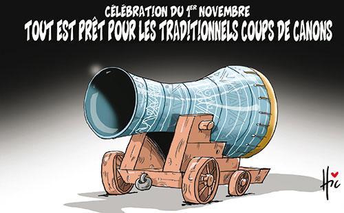 Célébration du 1er novembre: Tout est prêt pour les traditionnels coups de canons - Le Hic - El Watan - Gagdz.com