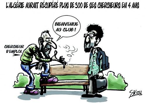 L'Algérie aurait récupéré plus de 300 de ses chercheurs en 4 ans - Sidou - Gagdz.com
