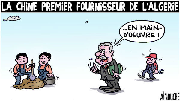 La Chine premier fournisseur de l'Algérie