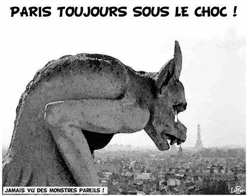 Paris toujours sous le choc - Vitamine - Le Soir d'Algérie - Gagdz.com