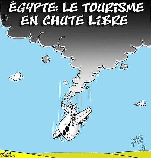 Egypte: Le tourisme en chute libre