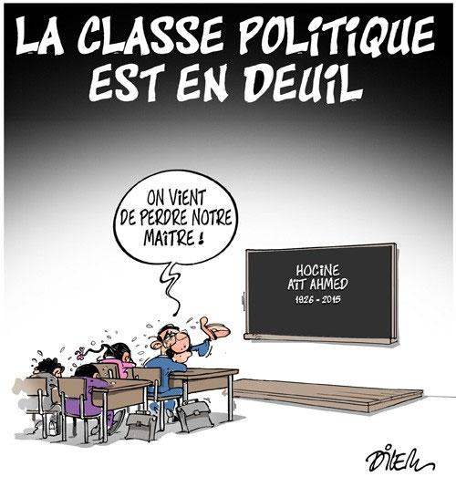 La classe politique est en deuil
