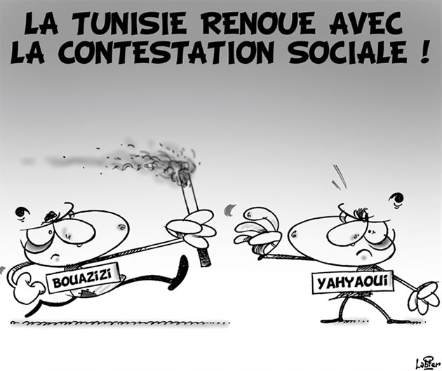 La Tunisie renoue avec la contestation sociale