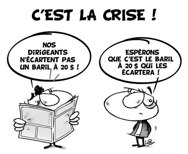 C'est la crise