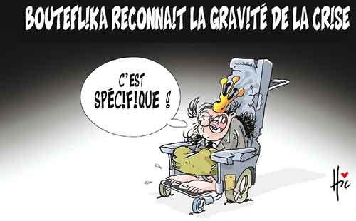 Bouteflika reconnait la gravité de la crise - Le Hic - El Watan - Gagdz.com