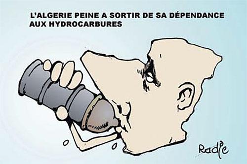 L'Algérie peine à sortir de sa dépendance aux hydrocarbures - Ghir Hak - Les Débats - Gagdz.com