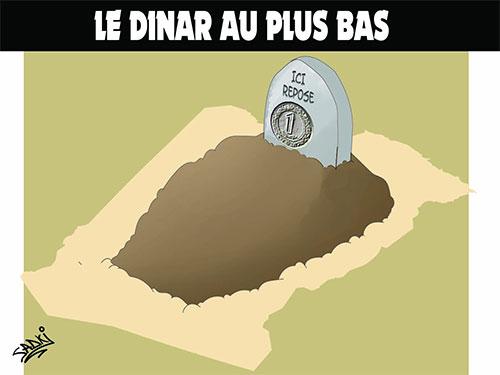 Le dinar au plus bas - Sadki - Le provincial - Gagdz.com