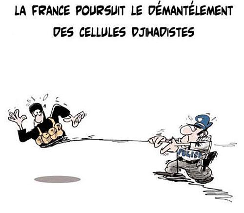 La France poursuit le démentélement des cellules djihadistes - Lounis Le jour d'Algérie - Gagdz.com