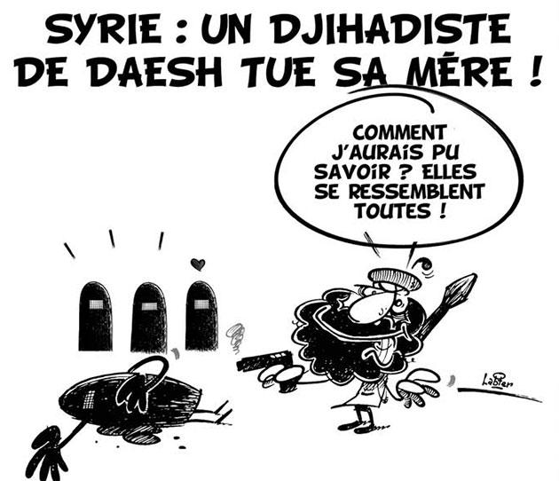 Syrie: Un djihadiste de daesh tue sa mère