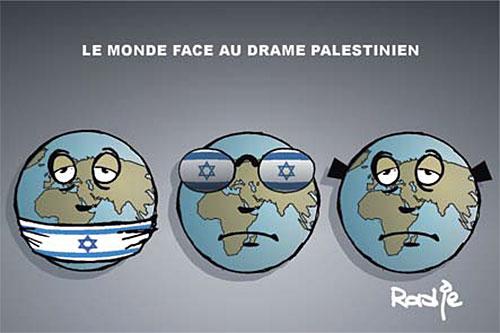 Le monde face au drame palestinien - Ghir Hak - Les Débats - Gagdz.com
