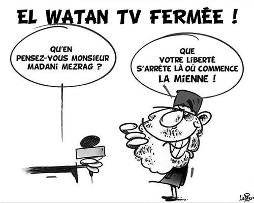 El Watan TV fermée