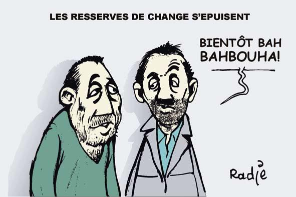 Les réserves de change s'épuisent