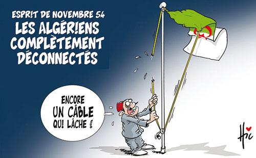 Esprit de novembre 54: Les Algériens complètement déconnectés - Le Hic - El Watan - Gagdz.com