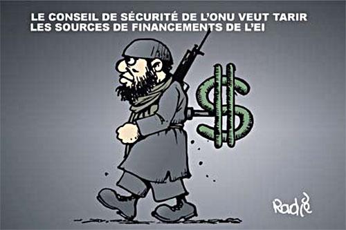 Le conseil de sécurité de l'onu veut tarir les sources de financements de l'ei - Ghir Hak - Les Débats - Gagdz.com