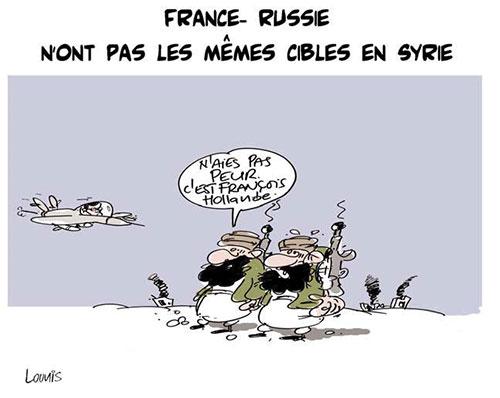 France-Russie n'ont pas les mêmes cibles en Syrie - Ghir Hak - Les Débats - Gagdz.com