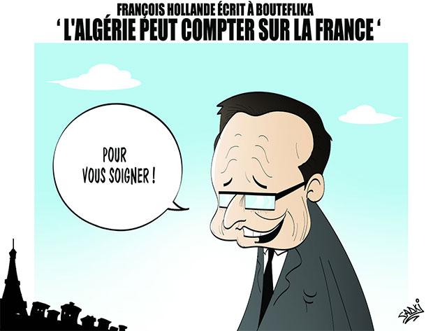 François Hollande écrit à Bouteflika: L'Algérie peut compter sur la France