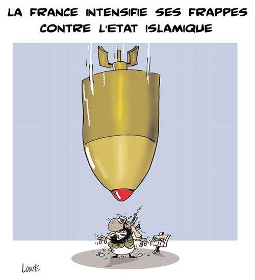 La France intensifie ses frappes contre l'état islamique