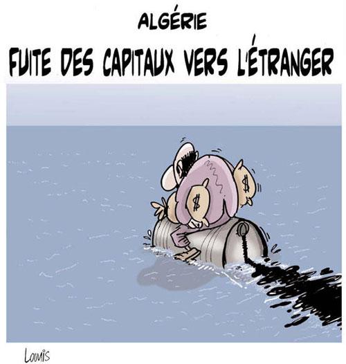 Algérie: Fuite des capitaux vers l'étranger