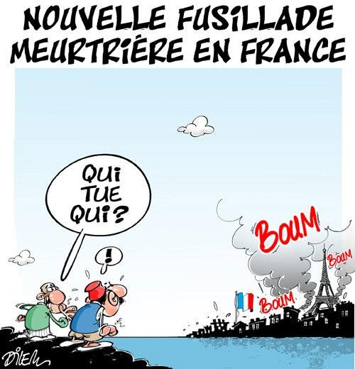 Nouvelle fusillade meurtrière en France