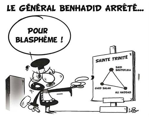 Le général Benhadid arrêté