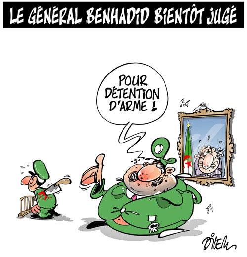 Le général Benhadid bientôt jugé