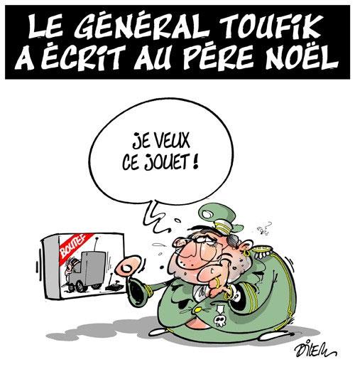 Le général Toufik a écrit au père noël
